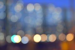 背景的,假日背景城市光 免版税库存照片