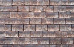 背景盖瓦木头 库存照片