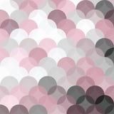 背景盘旋样式与透明桃红色和灰色树荫 免版税库存照片