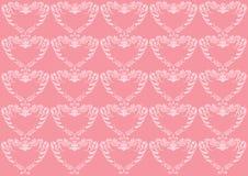 背景看板卡冠花卉重点粉红色 库存照片