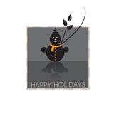 背景看板卡圣诞节人新的s雪年 库存图片