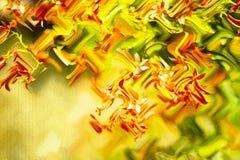 背景看板卡绿色风信花叶子百合Spring Valley 数字艺术板料 微微发亮颜色 工艺的装饰纸,卡片,海报 库存例证