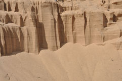 背景石英沙子 图库摄影