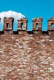 背景砖例证红色向量墙壁 免版税库存图片