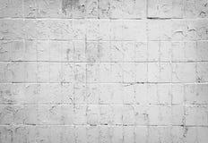 背景砖墙白色 免版税库存图片