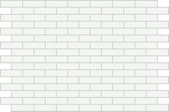 背景砖墙白色 皇族释放例证