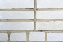 背景砖墙白色 图库摄影