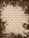 背景砖墙 免版税库存照片