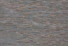 背景砖灰色墙壁 免版税库存图片