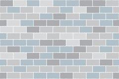 背景砖灰色织地不很细墙壁 向量背景 无缝的模式 向量例证