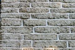 背景砖砖灰色墙壁 免版税库存图片