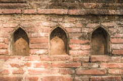 背景砖老墙壁 免版税库存照片
