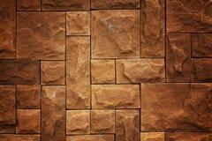 背景砖褐色模式 免版税库存图片
