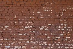 背景砖高老照片质量红色解决方法纹理墙壁 免版税库存图片
