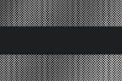 背景碳滤网金属 免版税图库摄影