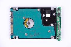 背景磁盘驱动器坚硬查出的白色 图库摄影