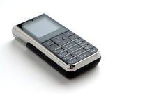 背景移动现代电话白色 免版税库存图片