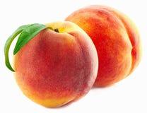 背景空白查出的桃子 库存图片