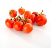 背景空白查出的蕃茄 免版税库存照片