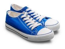 背景空白查出的运动鞋 免版税图库摄影