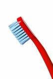 背景空白色的查出的牙刷 免版税库存照片