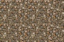背景空间石头小棕色灰色样式正方形 免版税库存图片