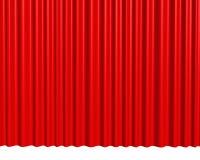 背景窗帘红色剧院 库存图片