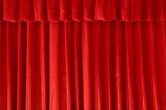 背景窗帘红色 免版税库存照片