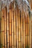 背景竹使用墙壁 免版税库存照片
