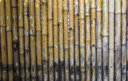 背景竹使用墙壁 图库摄影