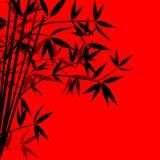 背景竹子向量 向量例证