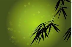 背景竹子向量 免版税库存照片