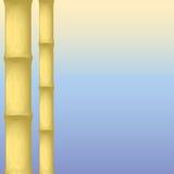 背景竹子是干燥的象可能使用 向量例证