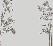 背景竹子 向量例证