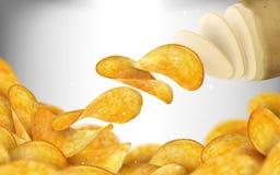 背景筹码结束重点图象土豆有选择性 库存例证