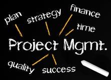 背景管理项目 向量例证