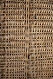 背景篮子查出的空白柳条 库存照片