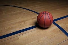 背景篮球场 库存图片