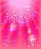 背景粉红色 库存图片