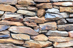 背景粗砺的石墙 库存图片
