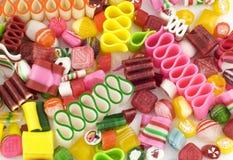 背景糖果五颜六色的节假日 免版税图库摄影