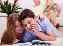 背景系列孩子学习 库存照片