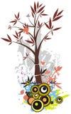 背景系列结构树 免版税库存图片
