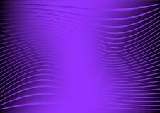 背景紫色波浪 免版税库存图片