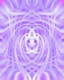 背景紫色漩涡 库存图片