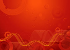 背景红色向量 免版税库存图片