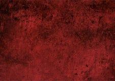 背景红色墙壁纹理,难看的东西纹理 免版税库存图片