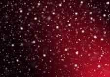 背景红色多雪 图库摄影