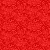 背景红色无缝 库存例证