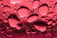 背景红色水中 库存图片